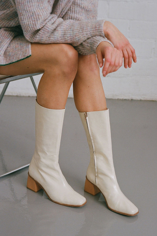 Paloma Wool Emiliana Boots Cream