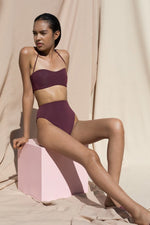 Pari Desai Isola Two Piece Bikini Maroon