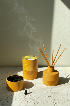 Golden Hour Reed Diffuser - Bergamot, Hay & Golden Poppy