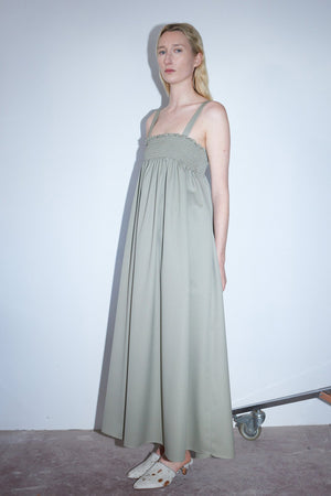 Load image into Gallery viewer, Shaina Mote Pyrenees Dress Sage
