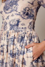 Rachel Antonoff Van Midi Dress Manhunt Toile