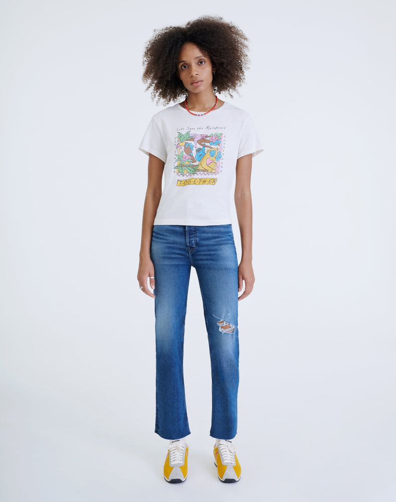 RE/DONE 70s High Rise Stove Pipe Jeans