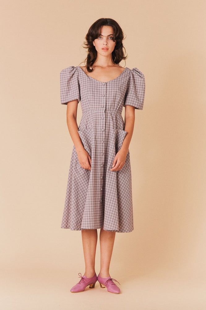 Samantha Pleet Dorothy Gingham Dress