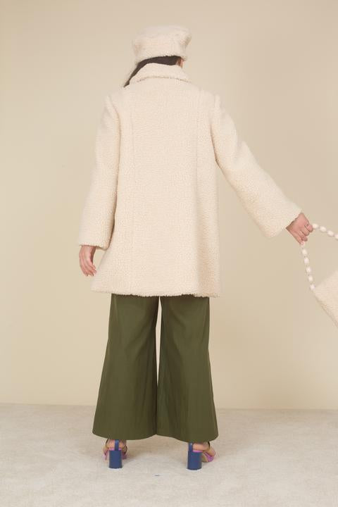 Samantha Pleet Willow Shearling Coat