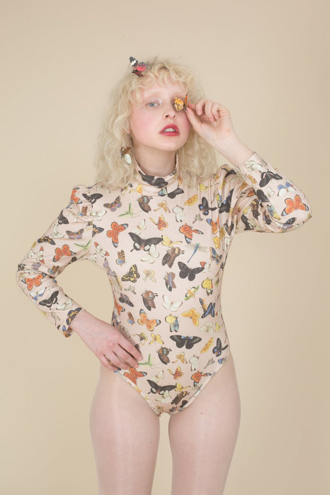 Load image into Gallery viewer, Samantha Pleet Winged Butterfly Bodysuit