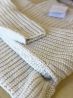 Shaina Mote Crop Turtleneck Sweater Crema