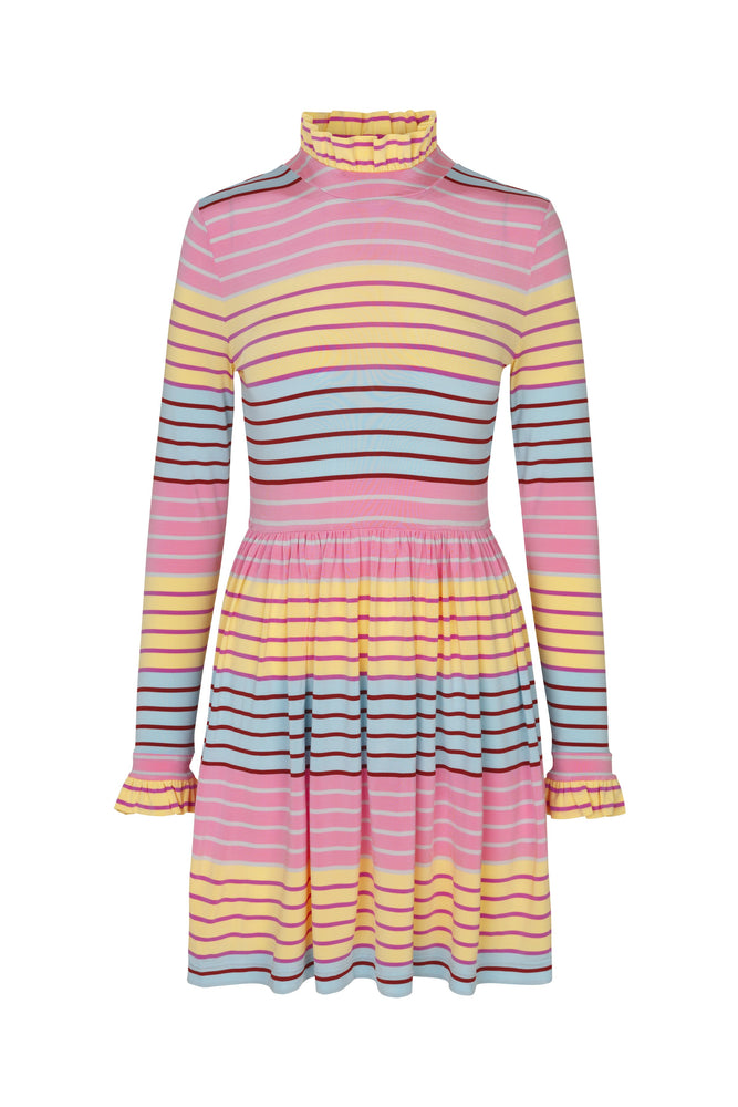 Stine Goya Baby Striped Mini Dress Dresses