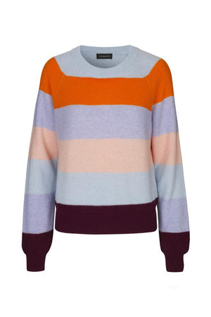 Load image into Gallery viewer, Stine Goya Magdalena Striped Knit Sweater Tops