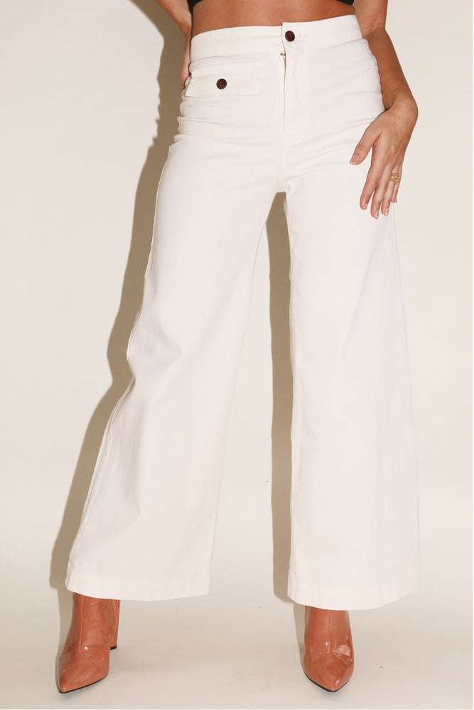 Sugarhigh Lovestoned Cream Woody Pants