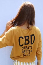 Sugarhigh Lovestoned CBD Create Better Daze Sweatshirt