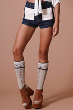 Sugarhigh Lovestoned Denim Woody Shorts