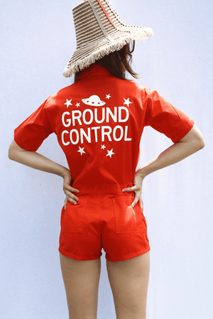 Load image into Gallery viewer, Sugarhigh Lovestoned Ground Control Romper