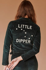 Sugarhigh Lovestoned Little Dipper Postal Jacket Hunter Green