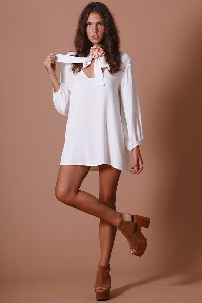 Sugarhigh Lovestoned Marianne Dress Cream