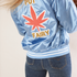 Sugarhigh Lovestoned Pot Fairy Baseball Jacket