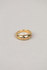 Mabel Moonstone & Gold Ring