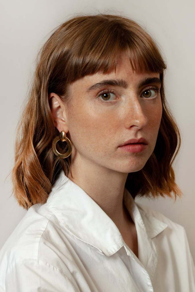 Wolf Circus Lotti Hoop Earrings Gold