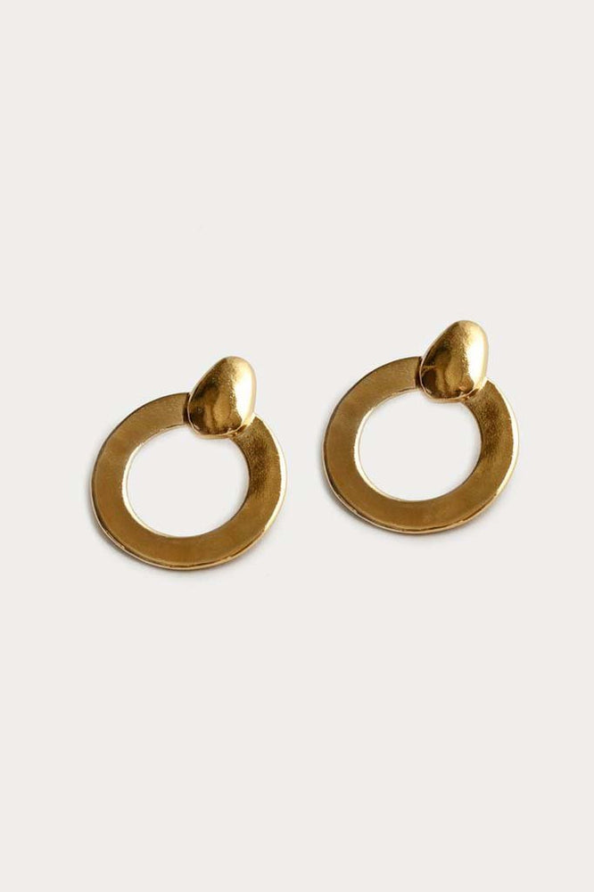 Wolf Circus Lotti Hoop Earrings Gold Jewelry