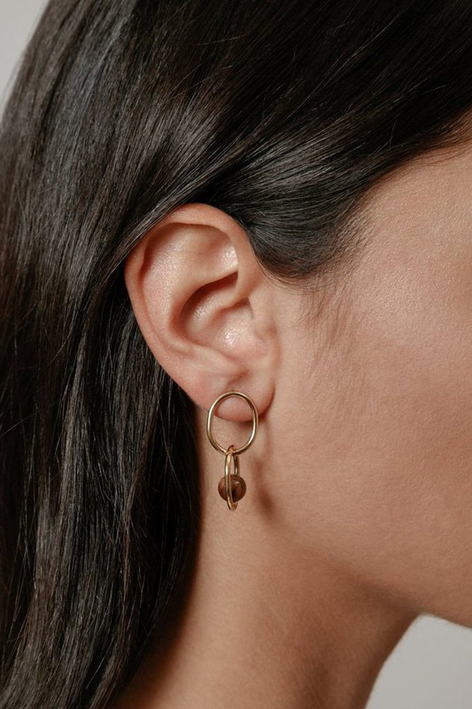 Wolf Circus Michelle Earrings Gold Jewelry
