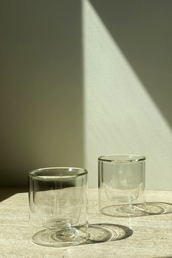 Double Walled Glasses Set Clear