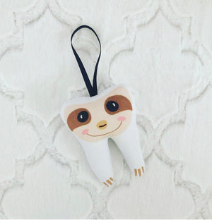 New!!! Tooth Fairy, Three Toed Sloth, Personalized, Fast Shipping, Boys, Girls, Kids