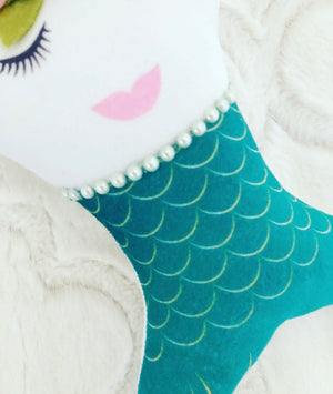 Mermaid Tooth Fairy Pillow Personalized