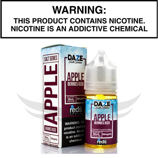 7 Daze Berries Iced 30mL salt vape