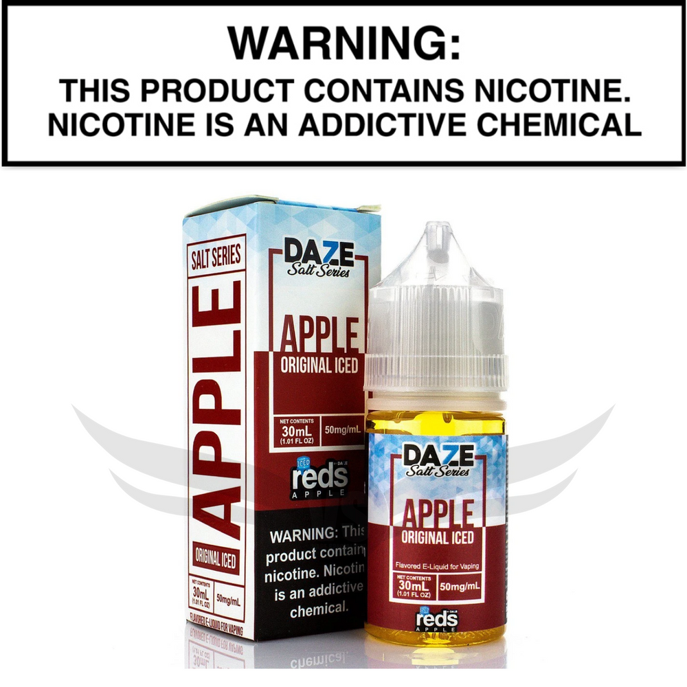 reds 7daze apple iced salt nic 30 mL eliquid