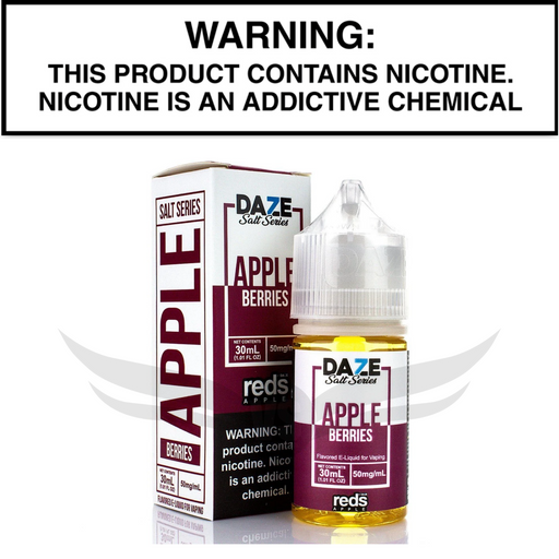 reds 7daze berries salt nic 30 mL eliquid