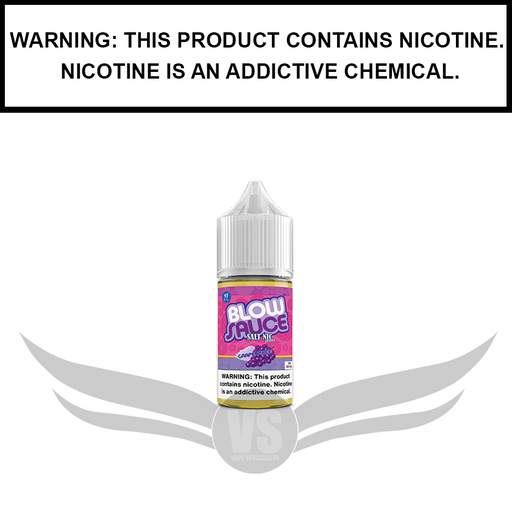 DripFire BlowSauce | Grape Pixee - Nic Salt eJuice (30ml)