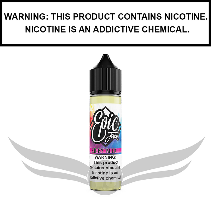 Epic Juice | Kirby's Milk - Strawberry Wafer with Milk - eJuice (60ml&100ml)