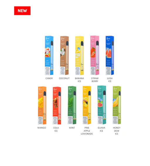 Fuze Mini Disposable | 10-Pack | 500 Puffs