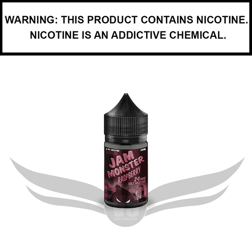 Jam Monster | Raspberry Jam - Nic Salt eJuice (30ml)