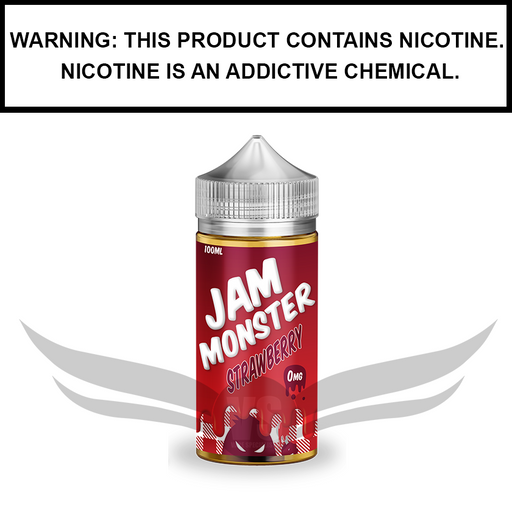Jam Monster | Strawberry Jam - eJuice (100ml)