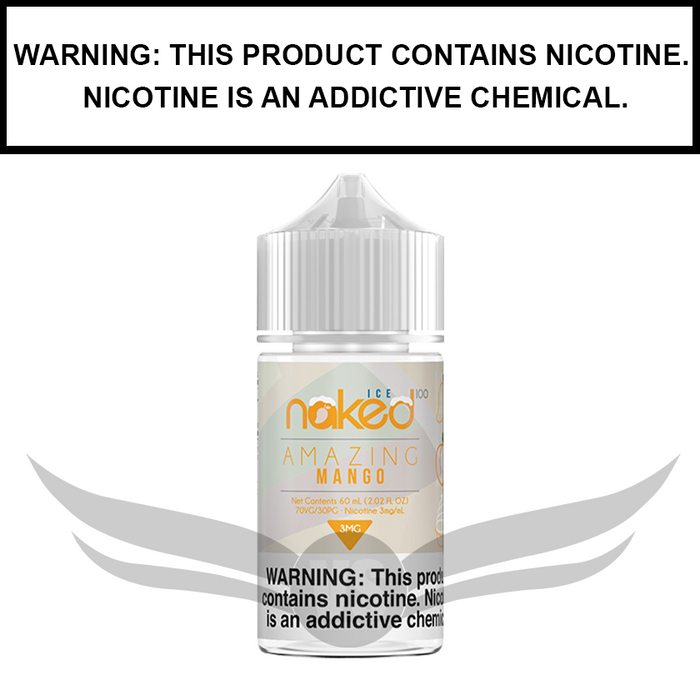 Naked 100 | Amazing Mango ICE - eJuice (60ml)
