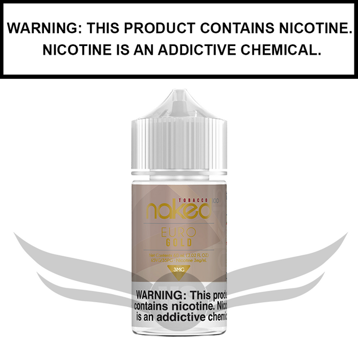 Naked 100 Tobacco | Euro Gold - eJuice (60ml)