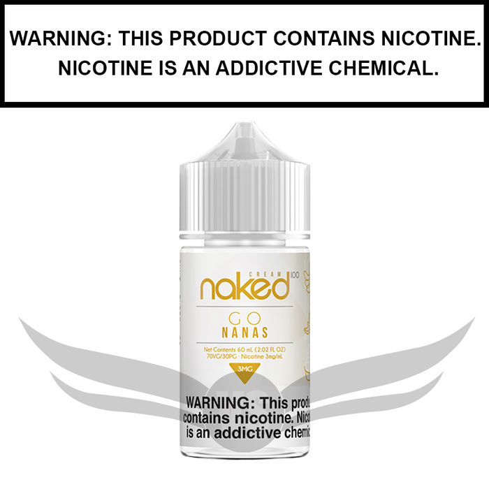 Naked 100 Cream | Banana (formerly Go Nanas) - eJuice (60ml)