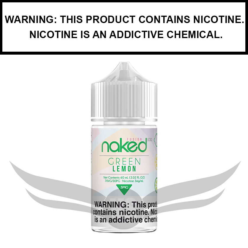 Naked 100 Fusion | Lemon (formerly Green lemon) - eJuice (60ml)
