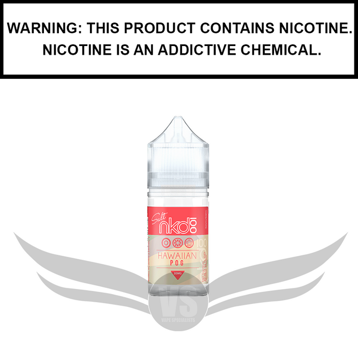 Naked 100 | Hawaiian Pog - Salt Nic eJuice (30ml))