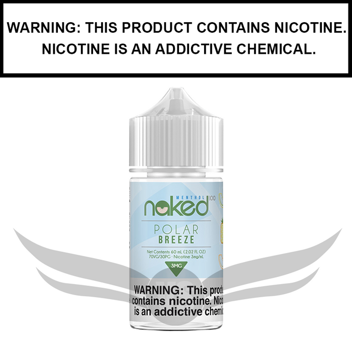 Naked 100 Menthol | Melon (Formerly Polar Breeze) - eJuice (60ml)