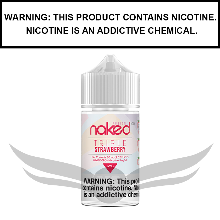 Naked 100 Fusion | Strawberry Fusion (formerly Triple Strawberry) - eJuice (60ml)