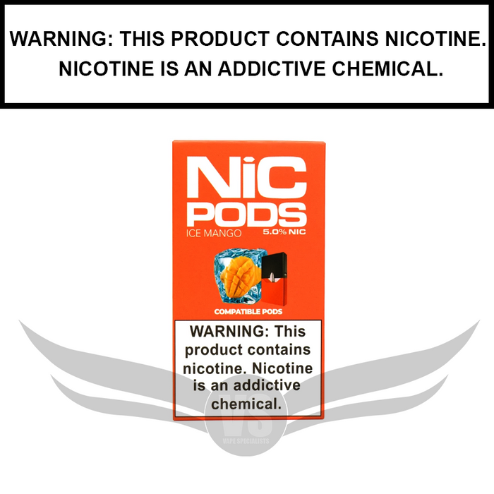 Nic Pods 50 mg Juul Compatible