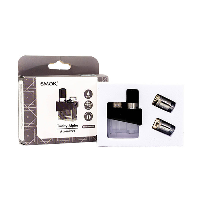 SMOK Trinity Alpha Pod Set/Cartridge (1 Pod + 2 Coils)
