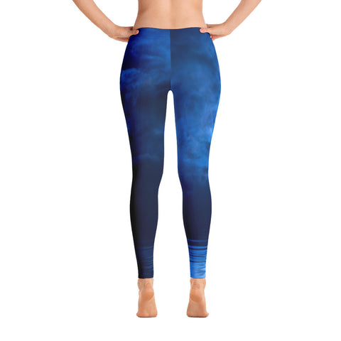 Blue Moon Low Waisted Leggings