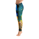 Breaking Wave Low Waisted Yoga Pants