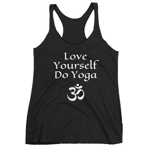 Love Yourself Do Yoga Women's Racerback Tank