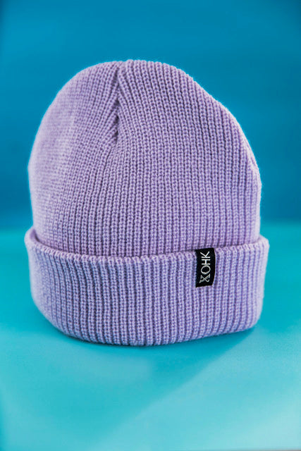 XOHK Light Purple Beanie