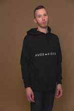 XO Hugs and Kisses Hoodie Street Black