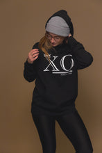 XO Hugs and Kisses Hoodie XO Black