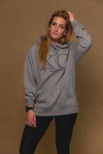 XO Hugs and Kisses Hoodie XO Grey